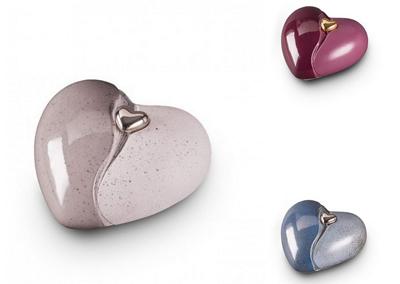 Hart met afneembaar magnetisch mini hart