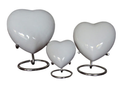 Aluminium Hart Urn in 4 verschillende kleuren