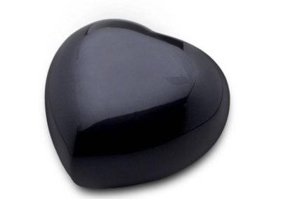 Messing hart zwart HUH 017